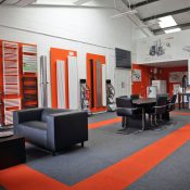 R A Brown Heating Services Showroom