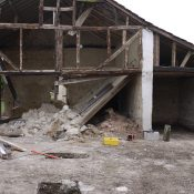 Before photo of barn conversion