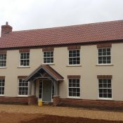 New Build with GSHP, UFH, MVHR