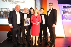 R A Brown Heat Pump Installer of the Year 2019