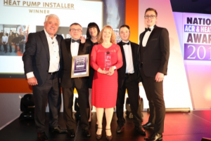 R A Brown Heat Pump Installer of the Year