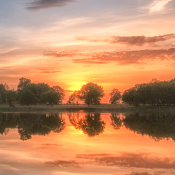Blickling Lake Sunset Focusbug Photography