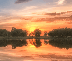 Blickling Lake Sunset Focusbug Photography