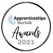 Apprenticeships Norfolk Awards 2021 logo